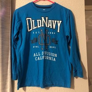 Other - blue old navy shirt